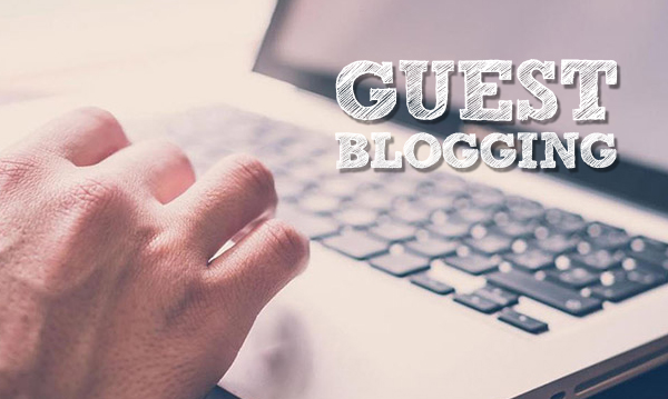 Guest Blogging help website presence
