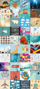 Vector stock images samples