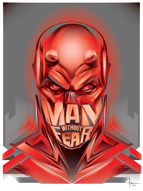 Man Without Fear by Orlando Arocena