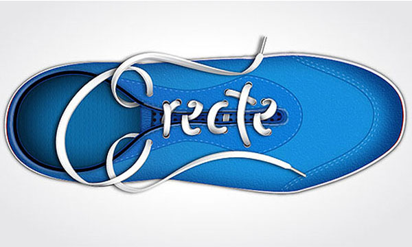 Create Amazing Shoe Lace Text Effect in Illustrator Tutorial
