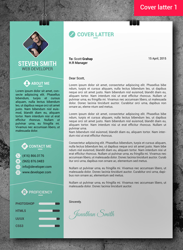Free Professional Resume/CV Template + Cover Letter