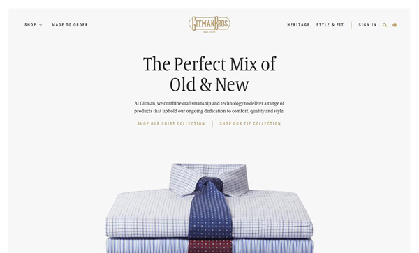 30 New Examples of Responsive Websites with Big Background - 11