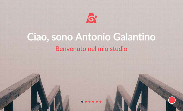 30 New Examples of Responsive Websites with Big Background - 12
