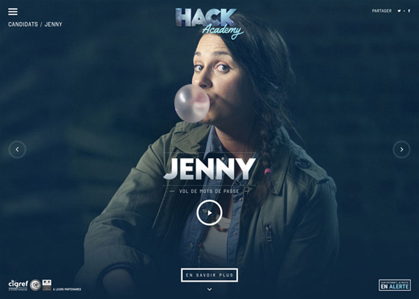 30 New Examples of Responsive Websites with Big Background - 2