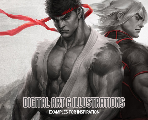 35 Amazing Digital Art and Illustrations by Creative Artists