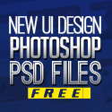 Post Thumbnail of Free PSD Files: Download 25 UI Design Photoshop PSD Resources