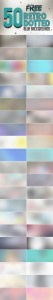 Free retro blur backgrounds with dotted pattern