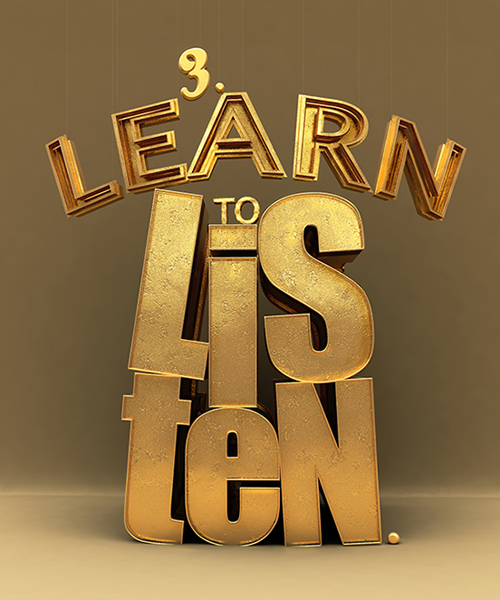 Learn to Listen by Voxel Gonzo