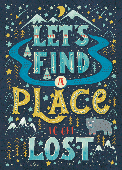 Let's find a place to get lost by Julia Henze