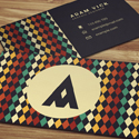 Post thumbnail of 26 New Professional Business Card PSD Templates