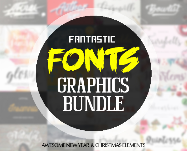 Fantastic Fonts and Awesome Graphics December Bundle