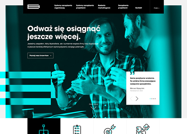 32 HTML5 Websites Examples Of Design with HTML5 - 17