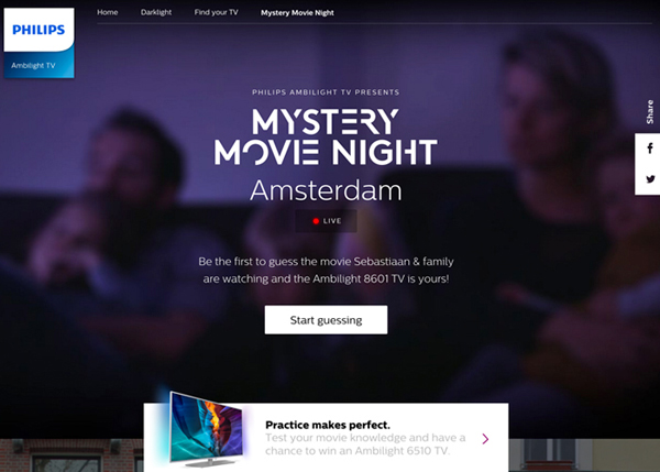 32 HTML5 Websites Examples Of Design with HTML5 - 6