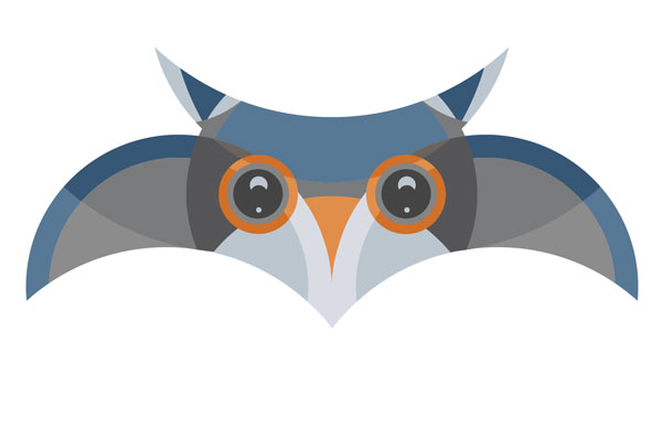 How to Create an Owl Character Using a Circular Grid in Adobe Illustrator