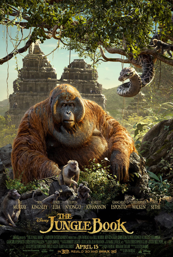 The Jungle Book< Movie Poster
