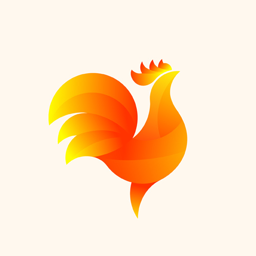 23 Colorful Illustrated Animal Logos - 9