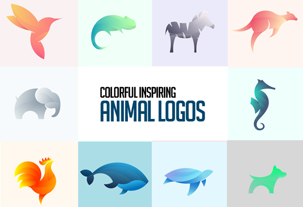 23 Colorful Illustrated Animal Logos
