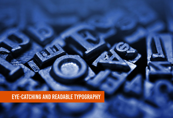 Eye-Catching and Readable Typography
