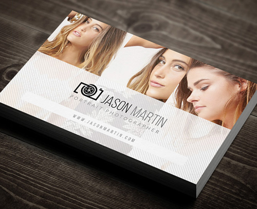 Photography Business Card Design #15