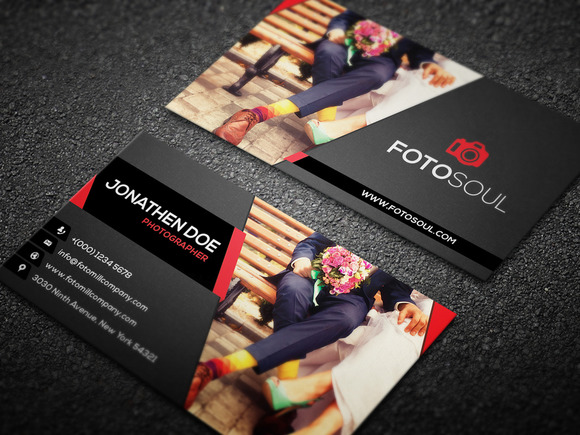 Photography Business Card Design #18