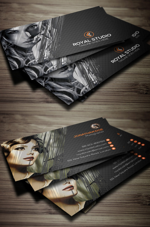 Photography Business Card Design #3