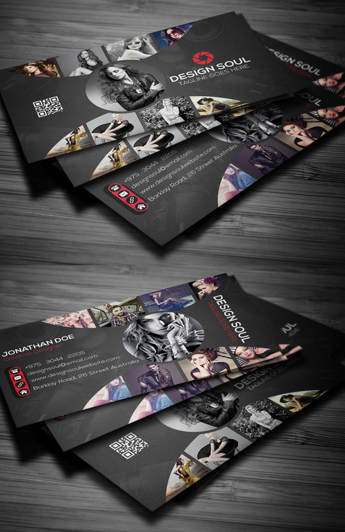 Photography Business Card Design #9