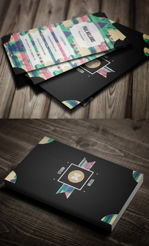 Retro/Vintage Style Business Card
