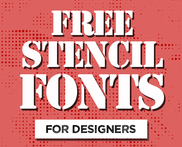 16 Best Free Stencil Fonts for Designers