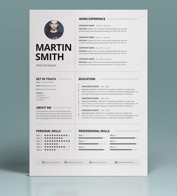 Resume, Cover Letter and Business Card