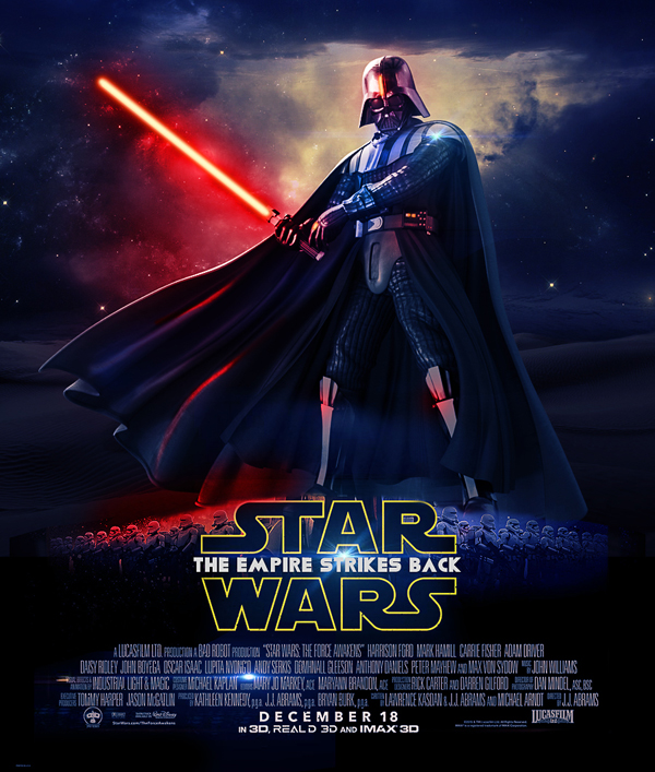 How to Create Star Wars Movie Poster Photoshop Tutorial