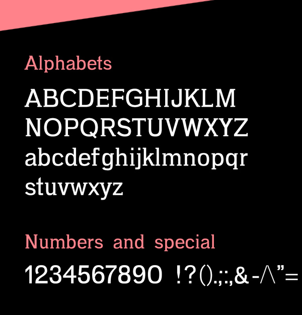 Gotu fonts and letters