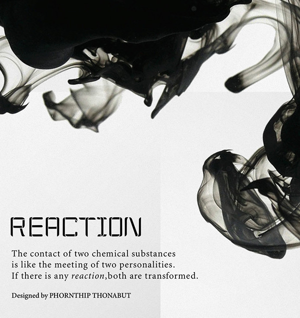 Reaction free fonts
