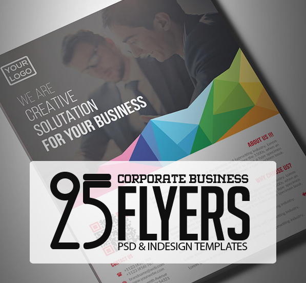 25 Professional Corporate Flyer Templates