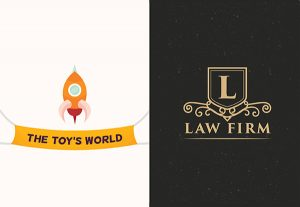 Toy company and a law firm Logo Design