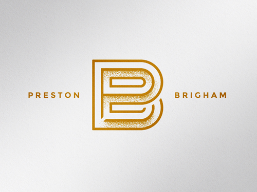 P B Logo (revised again) by Preston Brigham