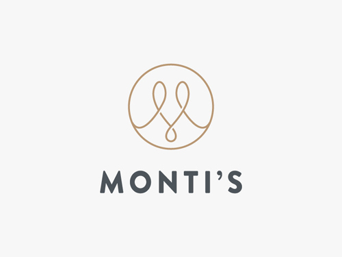Monti's Rotisserie and Bar Logo by Josip Kelava