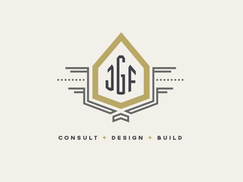 Custom Home Designer Logo by Cara Bell
