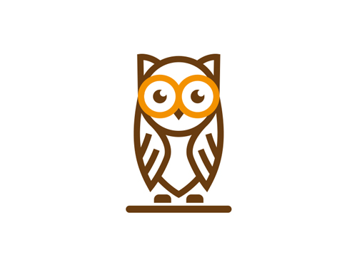 Owl Line Logo by David Artoumian
