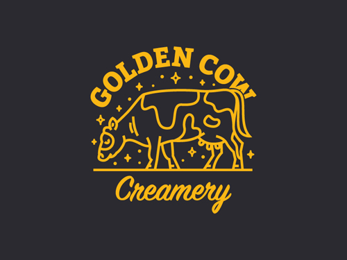 Golden Cow Creamery by Janiece Allison