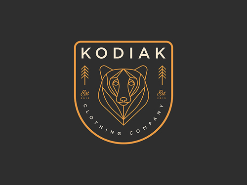 Kodiak clothing Line Logo by Josh Warren
