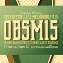 Post Thumbnail of 40 Font Families with 115 Fonts and 37 Graphic