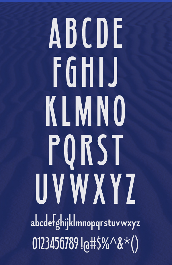 Fledgling Font Letters and Numbers