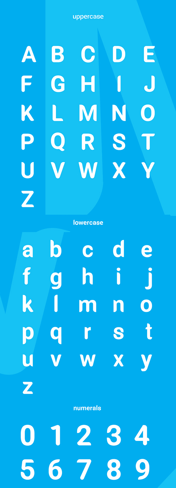 Millunium Font Letters and Numbers