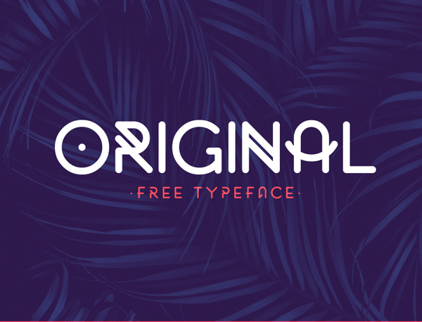 Original Rounded Free Font