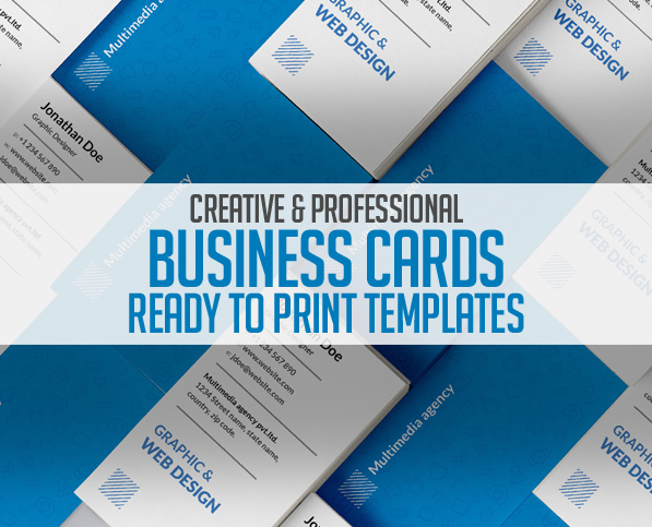 Business Card Templates: 26 New Print Ready Designs