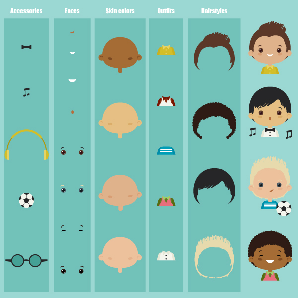 How to Create a Character Kit in Adobe Illustrator
