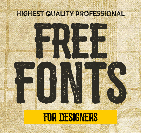 15 New Free Fonts for Designers