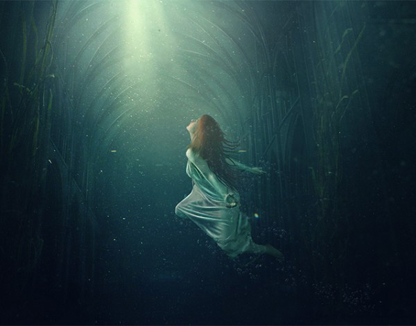 Create an Underwater Dreamscape in Photoshop