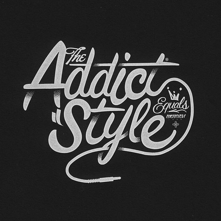 The Addict Style by Typography Inspired