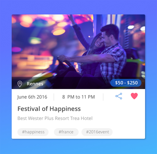50 Innovative Material Design UI Concepts with Amazing User Experience - 24